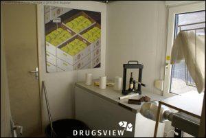 Cocaïne in de ondermijningscontainers