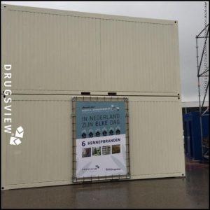 Hennepcontainers buitenzijde